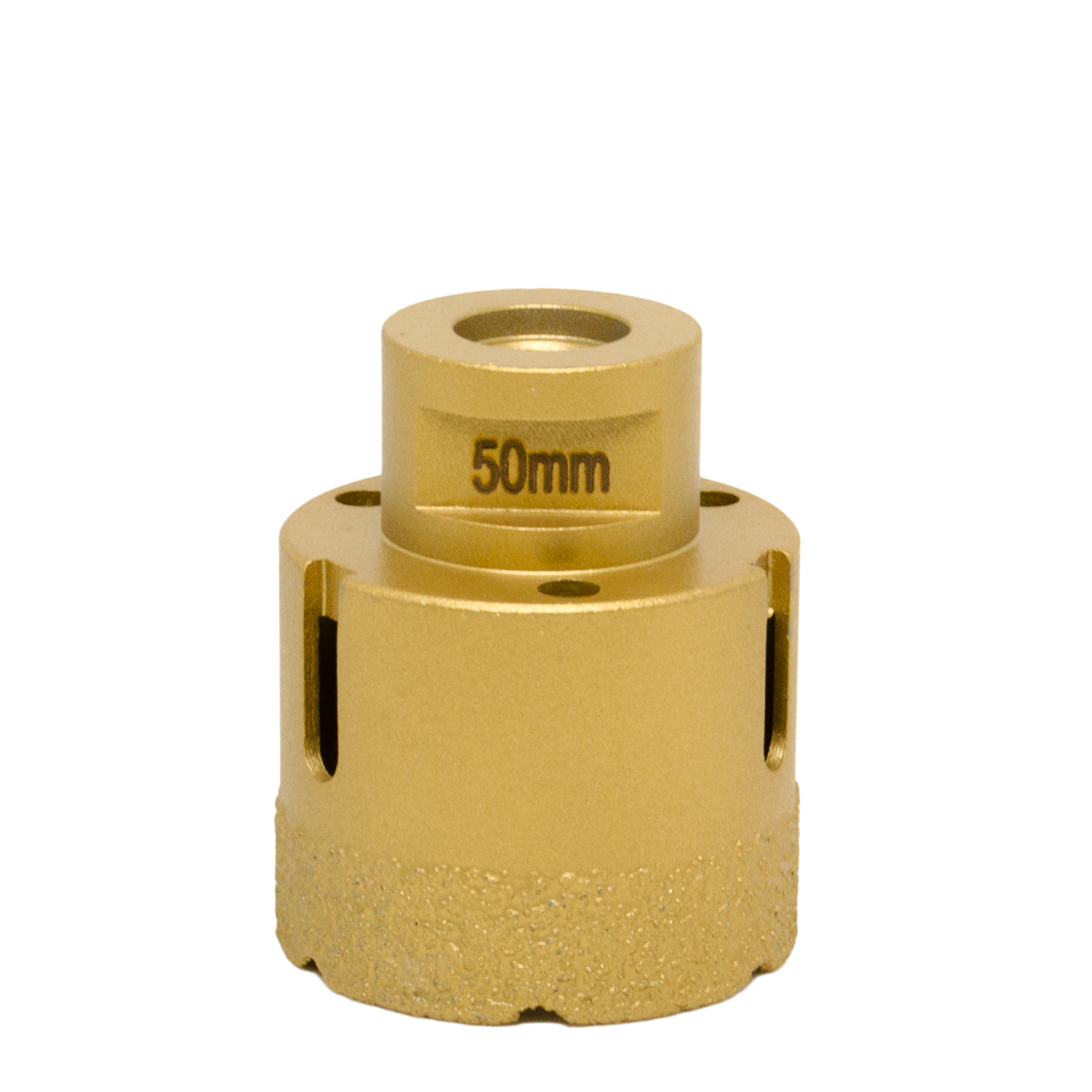 M14 Angle Grinder Spindle 50 Mm Diamond Core Drill Bit