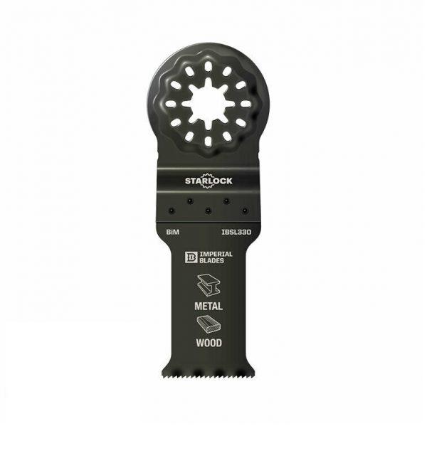 Metal/træ 35 mm Starlock multicutter klinge (Bi-metal)